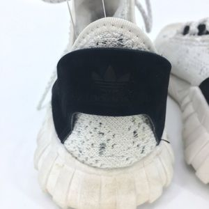 adidas Shoes - Adidas White Black Tubular Speckled Sneakers